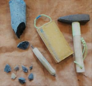 Flint Knapping Tools
